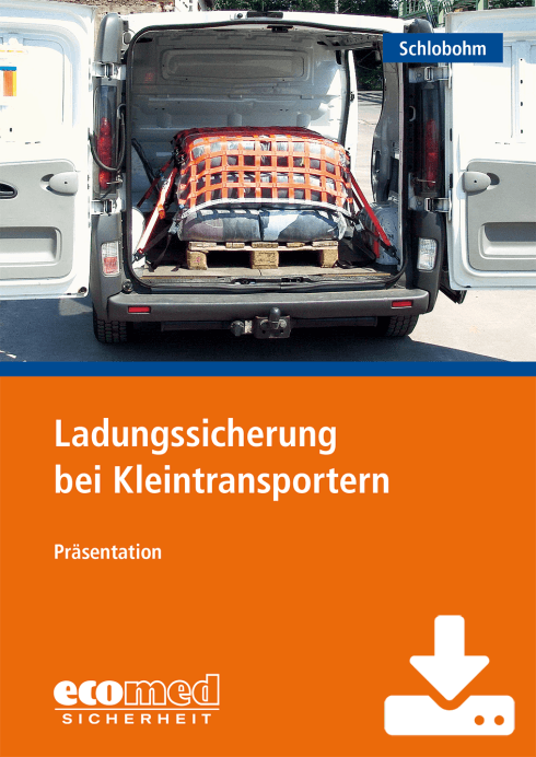 Ladungssicherung bei Kleintransportern - Download