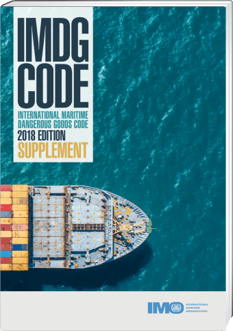 IMDG Code englisch Supplement